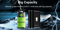 Airistech packaging-container Black Airis Mystica II 450mAh Vape Battery