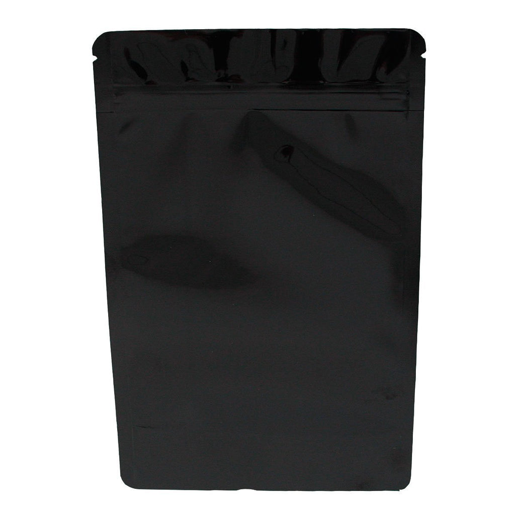 Brand King packaging-container Black Smell Proof Mylar Bag (Ounce)