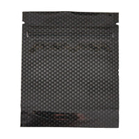 Brand King packaging-container Smell Proof Stealth Bag Carbon Fiber (Gram, 15-Pack)