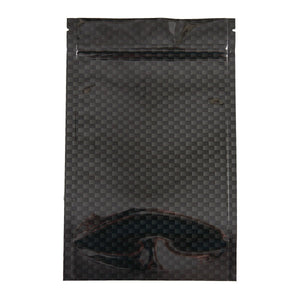 Brand King packaging-container Smell Proof Stealth Bag Carbon Fiber (Ounce, 5-Pack)