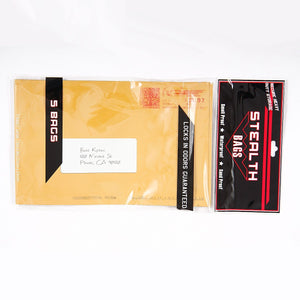Brand King packaging-container Smell Proof Stealth Bag Manila Envelope (Ounce, 5-Pack)