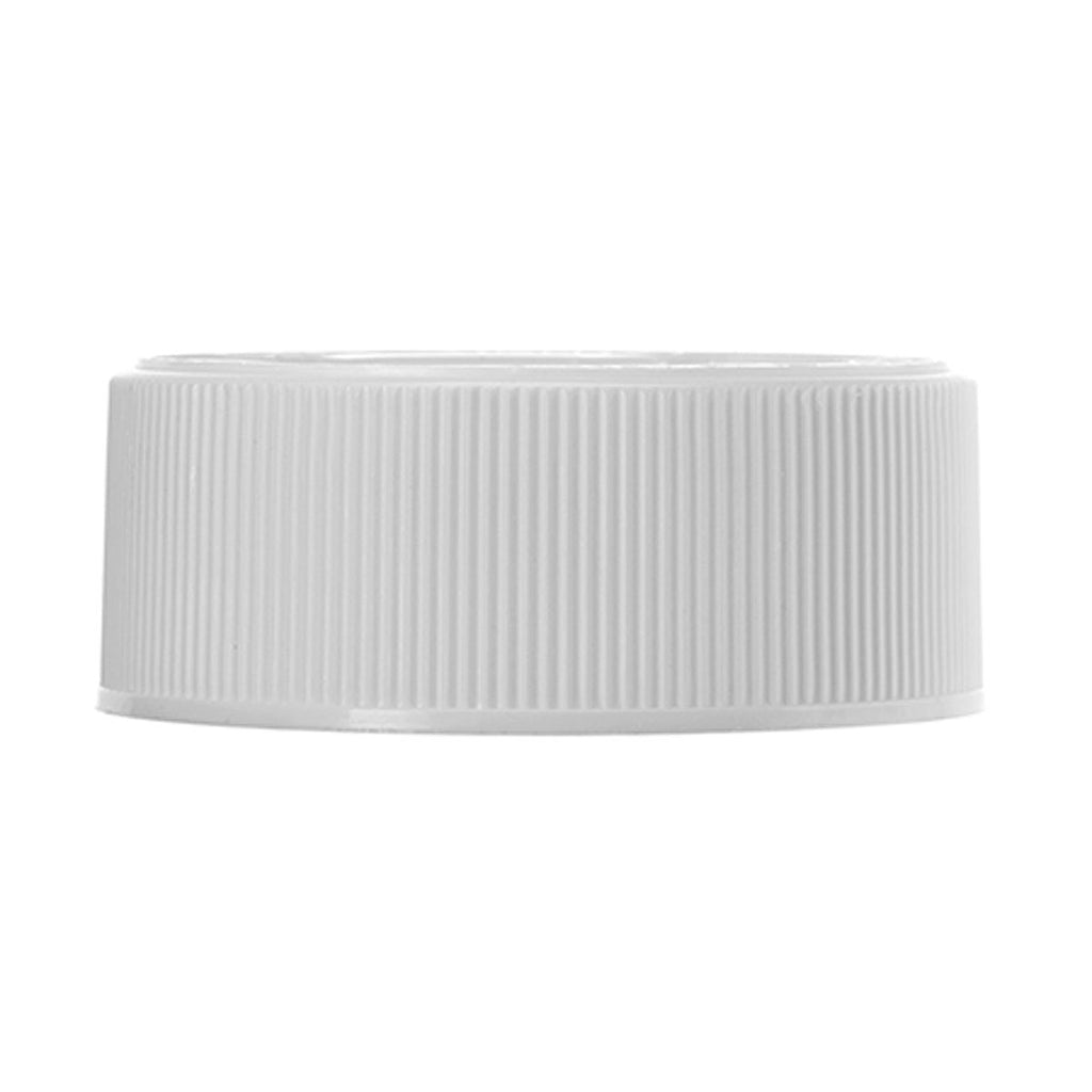 Brand King packaging-container White Child-Resistant Ribbed 38-400 Lid with Foam Liner