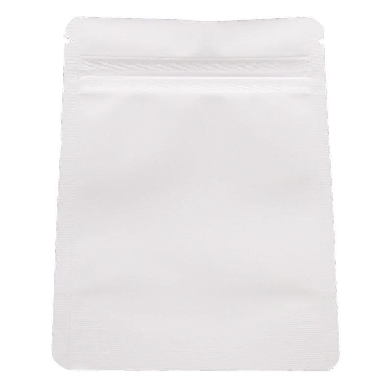 Brand King packaging-container White Smell Proof Mylar Bag (Eighth Ounce)