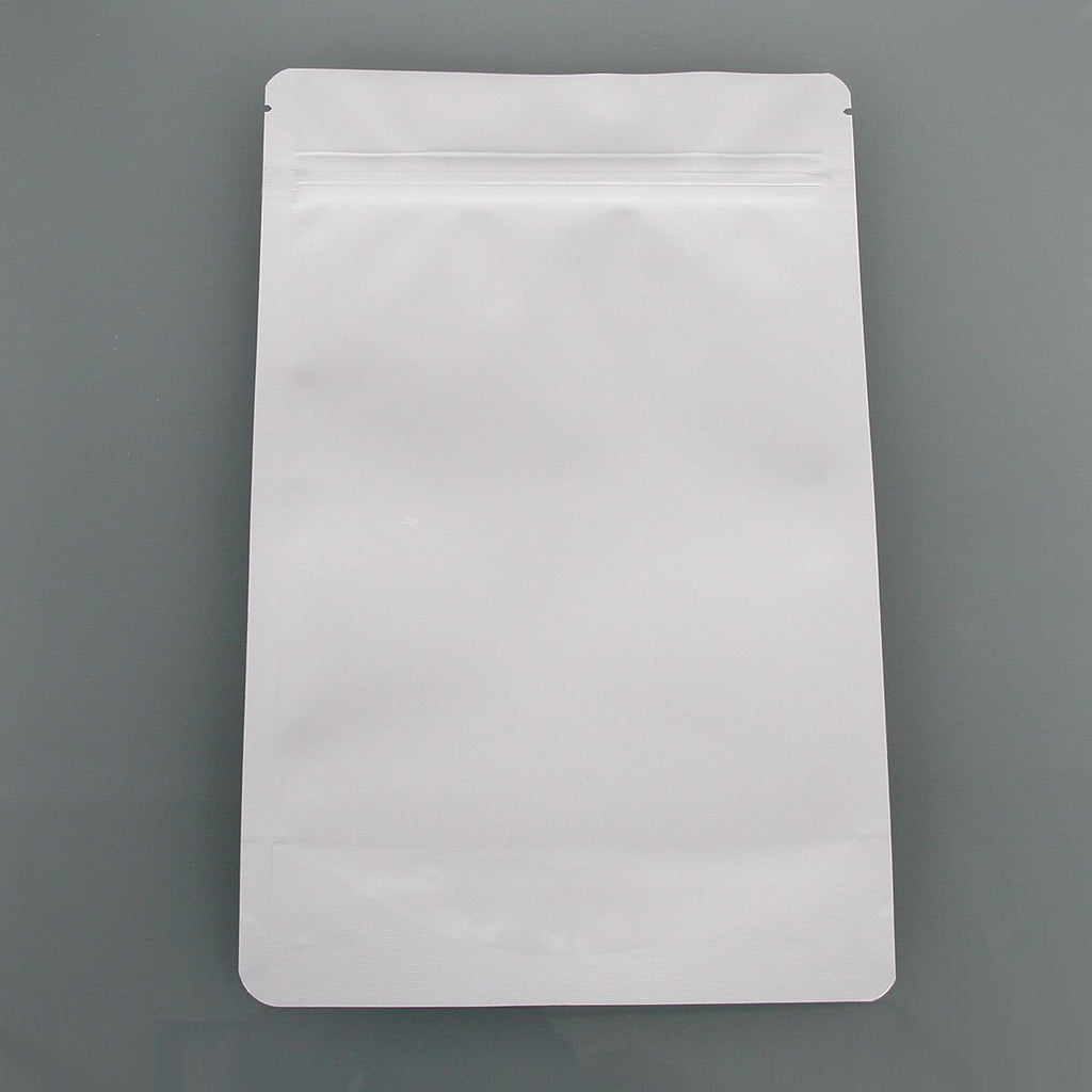 Brand King packaging-container White Smell Proof Mylar Bag (Ounce)
