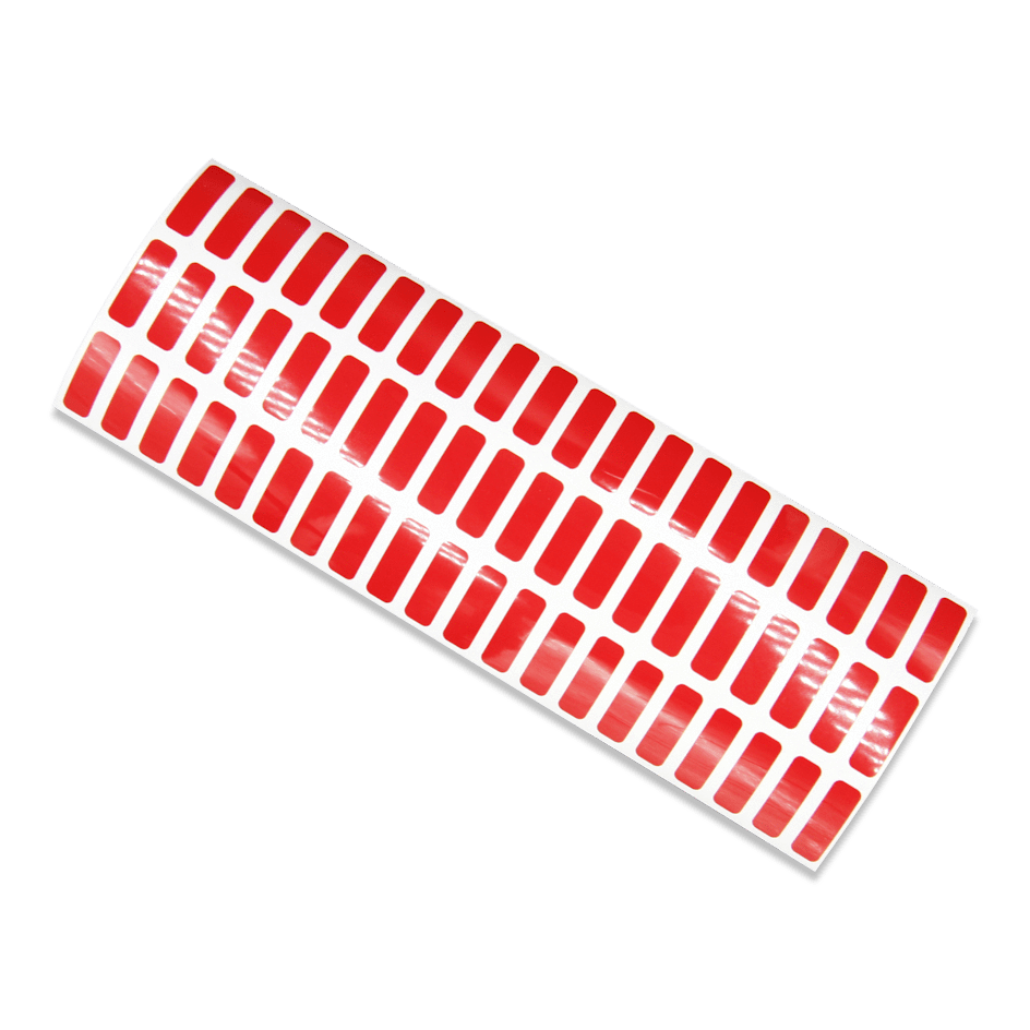 Red Red Tamper Evident Void Labels