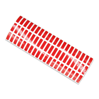 Red Red Tamper-Evident Void Labels