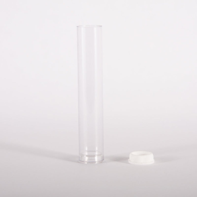Sputnik Stock packaging-container Plastic Tubes for Premium Vape Cartridges 13mm x 70mm