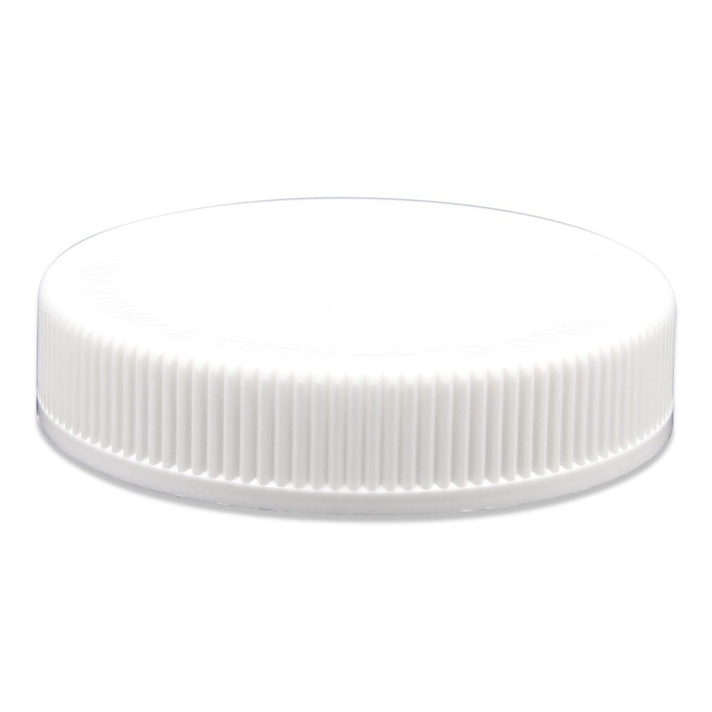 White eBottles White Child-Resistant Ribbed Foam Lined Cap 70/400