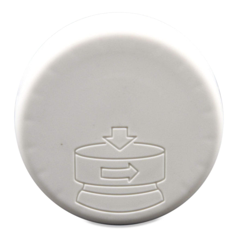 White Reclaimed Ocean Plastic 53/400 Pressure Sensitive Lined Smooth Cap