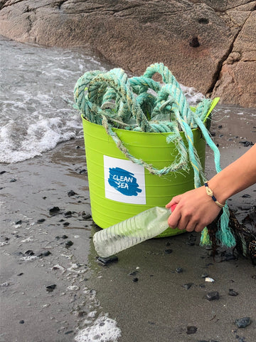 CleanSea bracelet removing trash from oceans