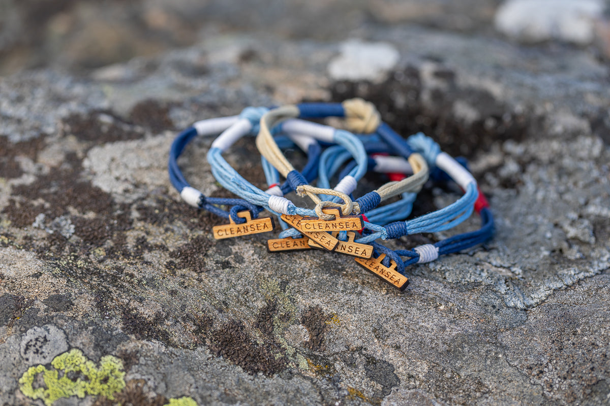 CleanSea bracelets cleaning the ocean from plastic 1 kilo at a time