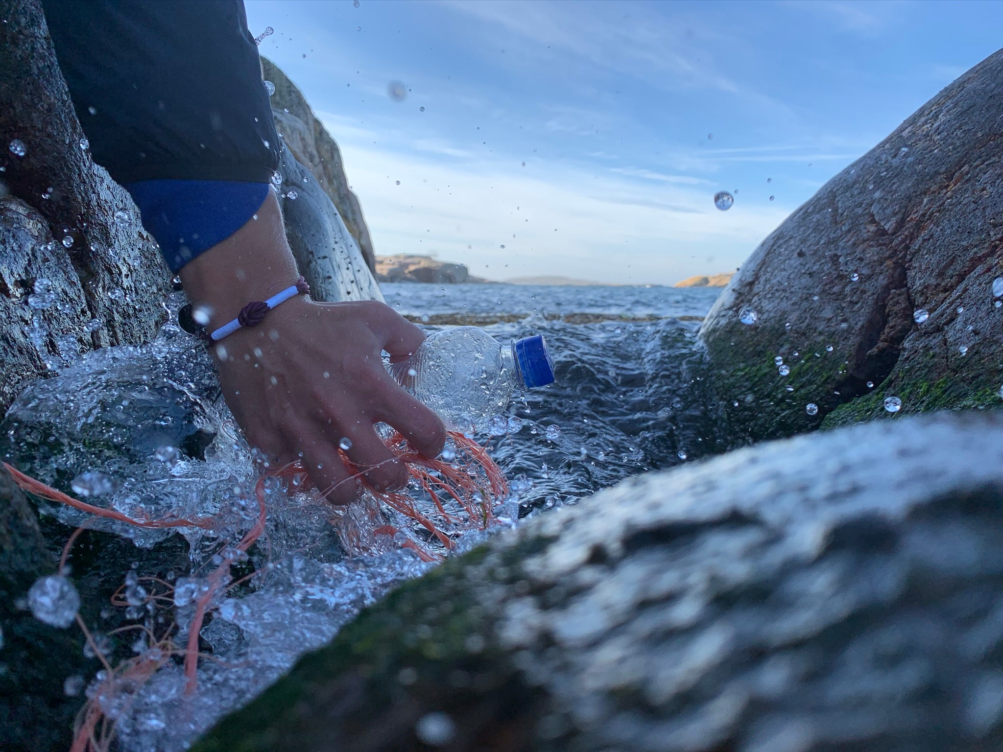 CleanSea removing plastic pollution from the ocean in Sweden