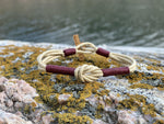 CleanSea Armband - Beige / Bordeaux - CleanSea