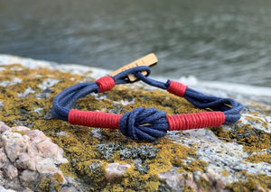 CleanSea Bracelet - Blue/Red - CleanSea