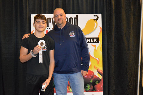 Rising Smoke Sauceworks Fiery Food Winner