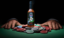All In Hot Sauce with poker chips