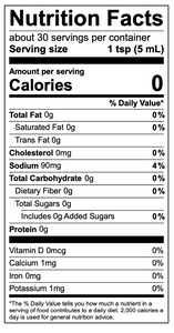 Fire Starter nutritional facts