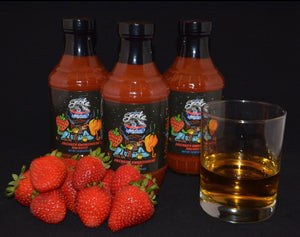 Drunken Smokehouse strawberry bourbon smoked habanero BBQ sauce