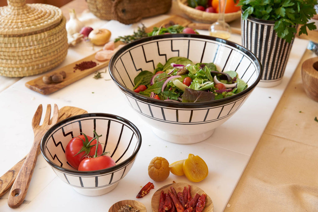 Tapis Design Salad Bowl