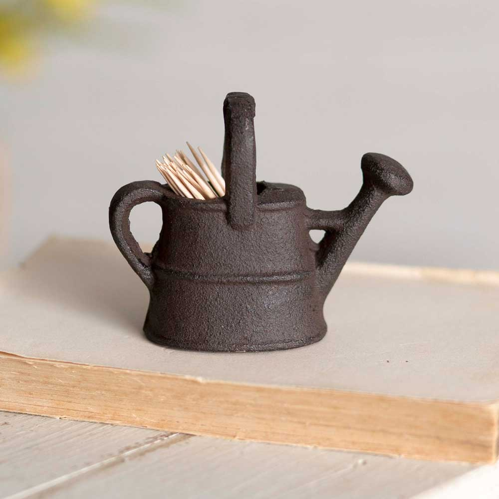 Watering Can Toothpick Holder