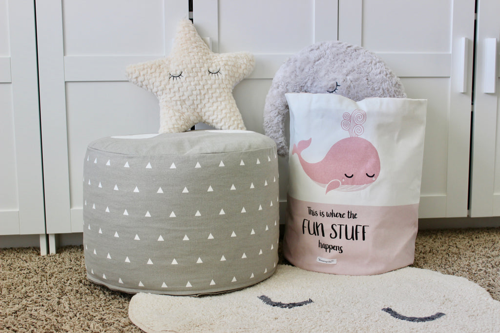 Fun Whale Storage Bag