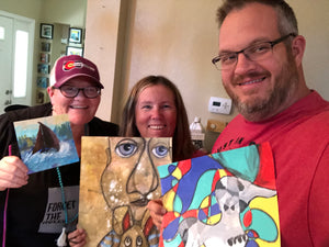 Family Art Dates - Starting A New Tradition