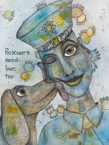 Rescuers Need Love, Too