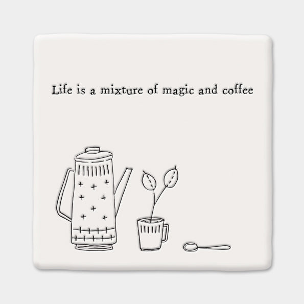 Magic & Coffee Coaster