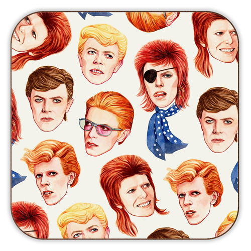 Iconic - Bowie Faces
