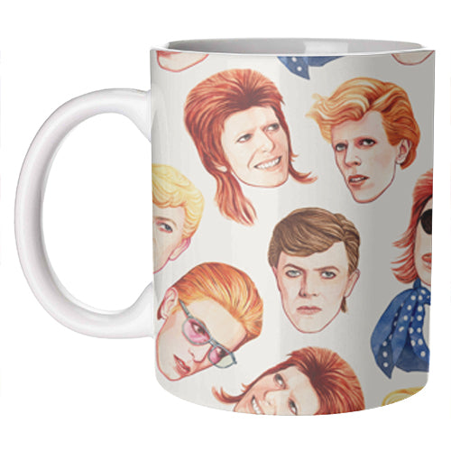Icon Mug | The Faces Of Bowie