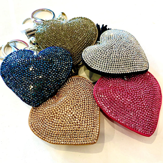 Heart Keyring - Colours To Choose