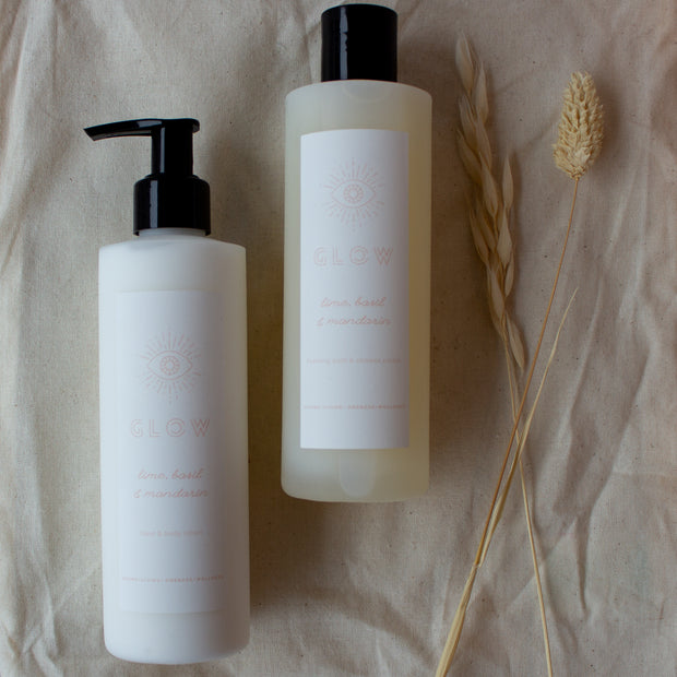 Lime, Basil & Mandarin Foaming Bath & Shower Cream