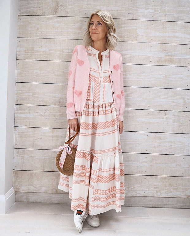 Demi Maxi Dress | Rose Pink