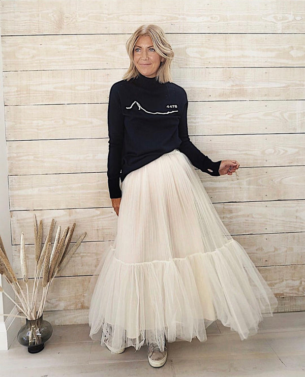 Full Tulle Skirt - Cream
