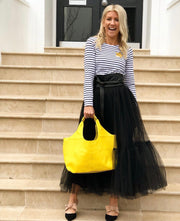 Full Tulle Skirt - Black