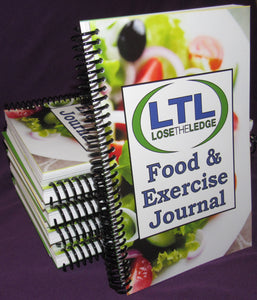 Lose The Ledge Food & Exercise Journal