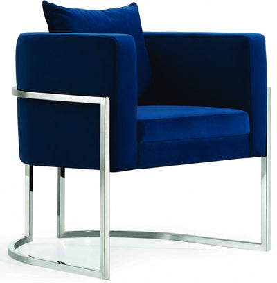 Jenna Velvet Accent Chair