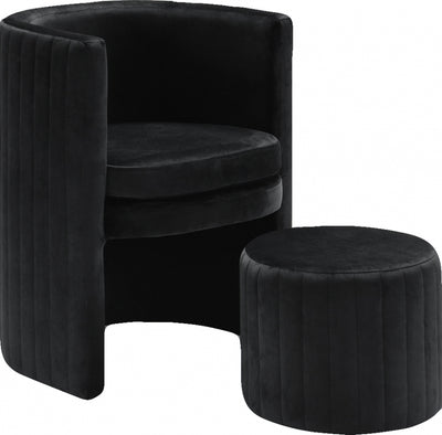 Mackenzie Accent Chair and Ottoman
