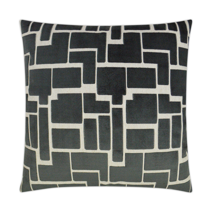 "Navy Tetris 24"" Custom Pillows - riteathomeatlanta"