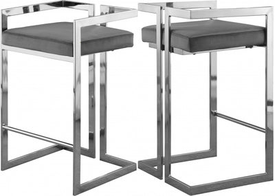 JUNIPER CHROME COUNTER STOOL