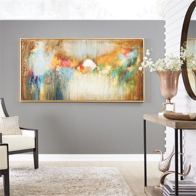 ILLUSION HAND PAINTED ORIGINAL FRAMED WALL ART
