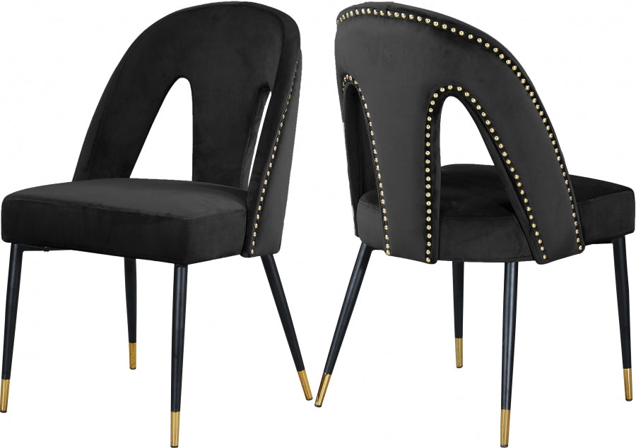 Abigail Velvet Dining Chairs  (Set of 2)