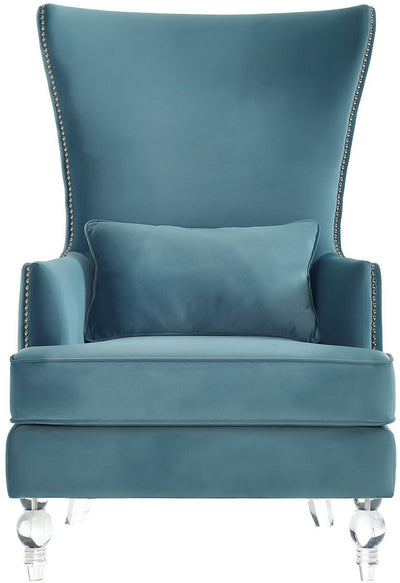 Bristol Sea Blue Chair - riteathomeatlanta