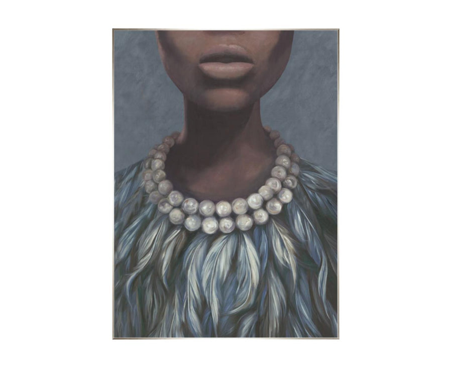 """Evening Dress"" Giclee Wall Art 41.50 x 56.50"