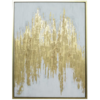 Parts of Gold Framed Wall Art