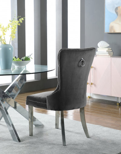 Isabella Velvet Dining Chairs (Set of 2)