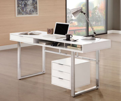 Krolly 4-Drawer Writing Desk Writing Desk
