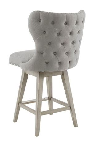 Holly Tufted Back Swivel Counter Stool