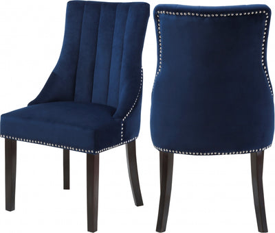 Olivia Velvet Dining Chairs (Set of 2)