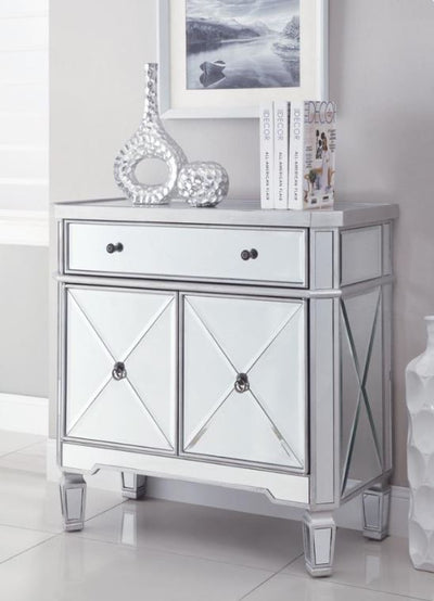 Rayna Mirrored Wine Cabinet